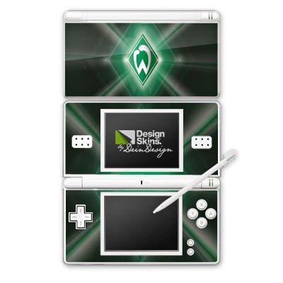 DeinDesign Nintendo DS Lite Folie Skin Sticker aus Vinyl-Folie Aufkleber Werder Bremen Fanartikel Fussball