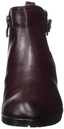 Caprice 25350, Stivali Chelsea Donna Rosso (Bord.NAP.Multi)