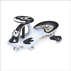 Toyzone Baby Panda Kids Magic Car/Swing Car Ride On -Multicolour