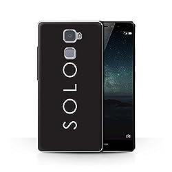 Stuff4® Hülle/Case für Huawei Mate S/Solo Muster/Weltraum-Western-Film Kollektion