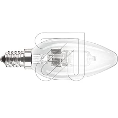 Philips 82058400 ECOCLASSIC30 KZL 42W E14 K Energiesparende Hochvolt-Halogen Kerzenlampe klar von Philips - Lampenhans.de