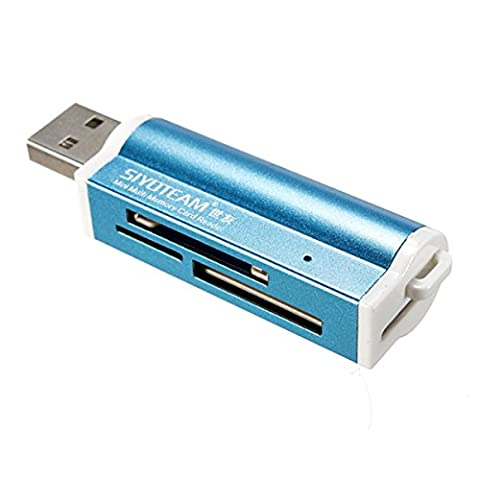 Multi-couleurs USB2.0 Lecteur de Carte Carte Reader Mémoire Micro SD