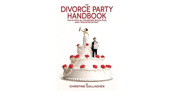 """Portada del libro """"The divorce party handbook"""""""