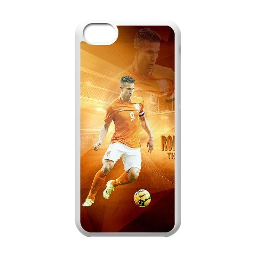 LP-LG Phone Case Of Robin van Persie For Iphone 5C [Pattern-6] Pattern-4