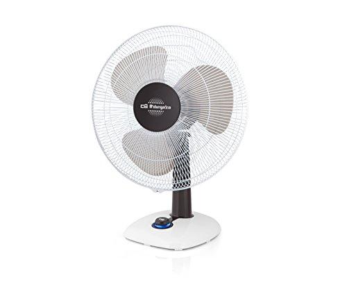 Orbegozo TF 0143 - Ventilador de sobremesa, oscilante, potencia 50 W, 3...
