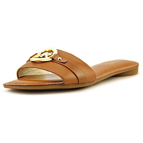 Michael Michael Kors Molly Slide Donna US 7 Marrone Sandalo