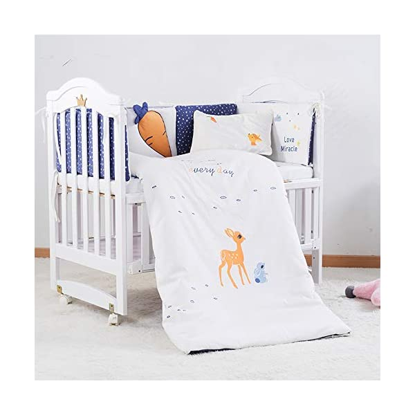 VBARV Multifunctional cradle bed-three-in-one stitching large bed solid wood crib, pine oversized children's play bed, bedroom furniture suitable for children aged 0-12 VBARV Non-toxic environmental protection material, no sharp fixing device, external dimensions are 125x72x104cm. Side-open fence, drowsy, easy to care for babies and able to hug in and out; can be spliced   into a large bed for easy feeding. The bed has four positions and is adjustable in height. The bed can be turned into a playground, cradle bed, sofa, desk, and is a multifunctional bed. Easy to clean and maintain: The surface of the crib can be wiped with a damp cloth to remove dust or dirt from the surface. 4