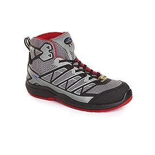 Aboutblu 5035002la 36Estoril Mid S1P Work Shoe Size 36, Grey