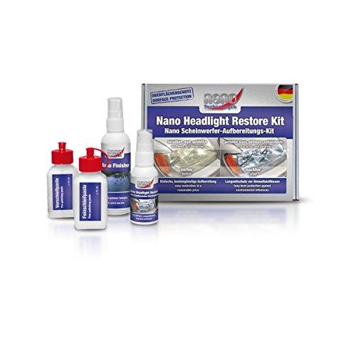 Nano Scheinwerfer-Aufbereitungs-Kit