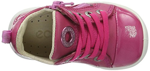 Ecco First, Chaussures Marche Bébé Fille Rose (50229Beetroot/Beetroot)