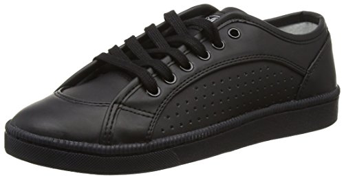 Buffalo 100-18 Nappa PU Damen Sneakers Schwarz (Black 01)