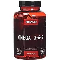 Prozis Omega 3:6:9 120 Gélules - Complément Comprenant Une Formule Essentielle D'Acides Gras - Soutient Le Niveau D'Énergie Et La Santé Cardiovasculaire - 40 Portions