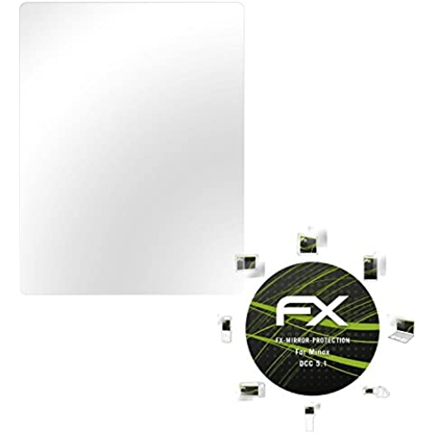 atFoliX Protección de Pantalla Minox DCC 5.1 Lámina protectora Espejo - FX-Mirror con efecto