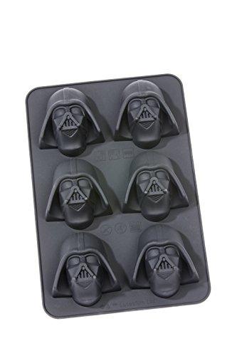 Star Wars Muffinbackform, Silikon, Mehrfarbig, 27 x 18 x 5.2 cm