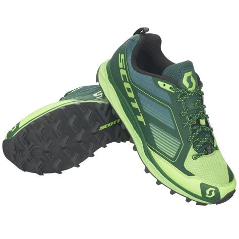 Scott Running Kinabalu Supertrac Running Shoes 45 EU Green