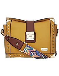 Satya Paul Women's Handbag (Mustard)