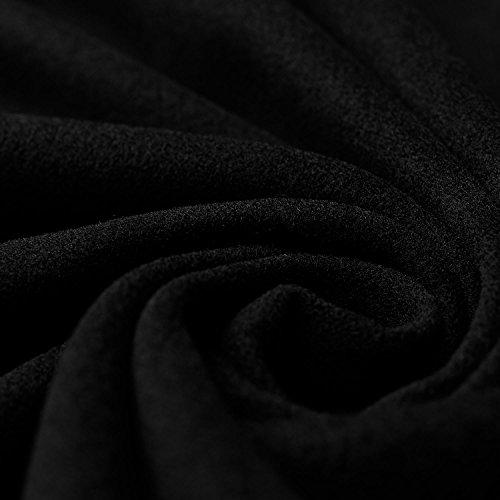 Nelly - Kaschmir Wolle Mantel Wollstoff Meterware (schwarz) Schwarz Wolle Mantel