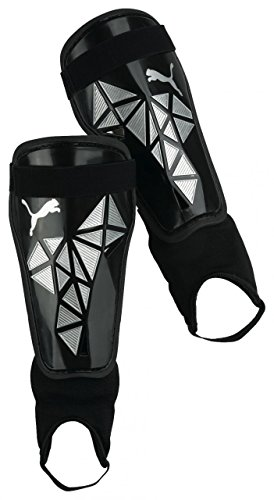 Pro Training grd + ankle in black-Metallic silver