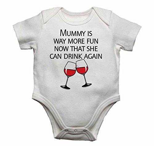 0dc4f51dac2 Mummy is Way More Fun Now That She Can Drink Again - Baby Vests Bodysuits Baby  Grows for Boys