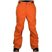 Two Bare Feet Pantalones amplios de esquí para niños, Infantil, Color Cyber Orange, tamaño XL