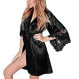 Lingerie Hot ASHOP Donna Sexy Kimono di Seta Dressing Babydoll Lace Lingerie Cintura da Bagno Robe da Notte Lingerie Sexy Donna Erotico con Apertura