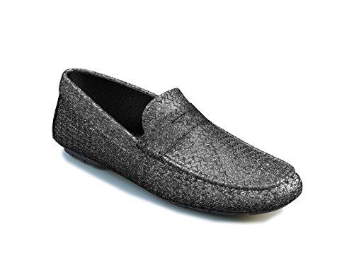 DIS Customized Schuhe - Mokassin - schwarz Herren Schwarz