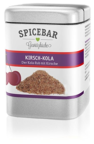 Kirsch Kola BBQ Rub, Cola Gewürz mit über 15% purem Bio Kirschpulver