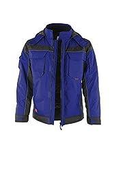 PRO Winterjacke (5XL, blau/schwarz)