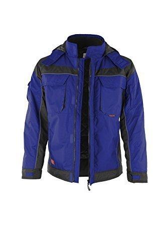 Erwachsenen-kapuzenjacke (PRO Winterjacke (XS, blau/schwarz))