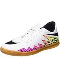 Nike Jr Hypervenom Phade II IC, Zapatillas para Niños, Blanco (White / Black Total Orange Volt), 37 1/2 EU