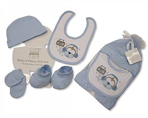4piece set regalo con Mesh Bag, (Mitt Set)