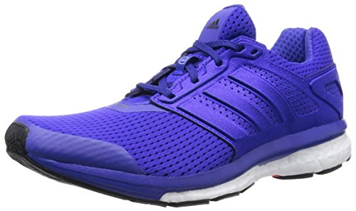 DE 7 W 2015 Damen Laufschuhe Fitness Sport Sneaker B40368(NightFlash/NightFlash/CoreBlack = blau-lila,UK 6.5 (40,0)) ()