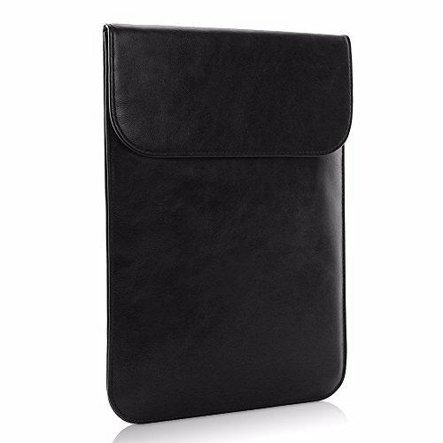 Allinside Borsa in Pelle Sintetica Nera per Macbook Air 13 Pollice Pro 13 Pollice con / senza Retina e New Macbook Pro 13 Pollice con / senza Touch Bar