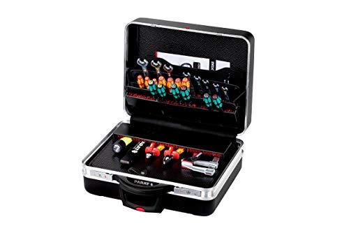 Prarat Werkzeugkoffer (Rollkoffer) CLASSIC KingSize Roll TSA LOCK, Ordnungssystem CP-7 - 2 Schlüssel, 1 Längssteg 3 Querstegen, 49x46x25cm - 589.570.171 (ohne Inhalt)