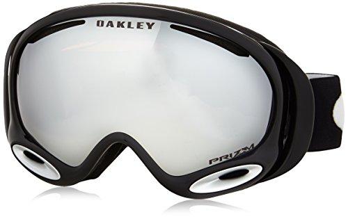 Oakley Uni Skibrille A Frame 2.0 Sportbrille, Schwarz (Jet Black/Prizmblackiridium), 99