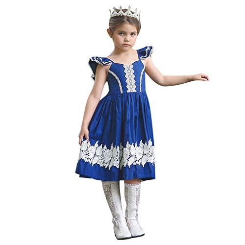 Kleider, Verstellbarer Schultergurt Spitzenkleider Outfits Kleidung Outfits Kostüm Kleidung Outfits Mädchen Kleidung 2-7 Jahre ()