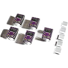 5x DRV8825 Schrittmotor-Treiber-Modul mit Kühlkörper, z.B. für RAMPS 1.4, CNC-Shield, 3D Drucker, Prusa Mendel
