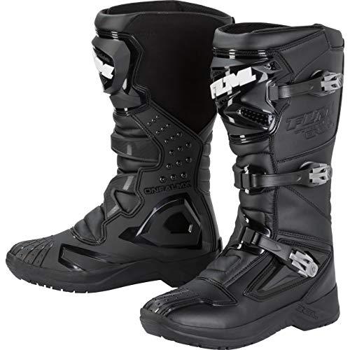 FLM Motorradschuhe, Motorradstiefel lang Enduro Stiefel 1.0 schwarz 46, Unisex, Enduro/Reiseenduro, Ganzjährig