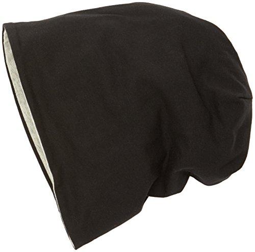 MSTRDS Jersey Beanie Reversible, Berretti a Maglia Donna, Mehrfarbig (Black/ht.Grey 10377,3886), Taglia Unica (Taglia Unica)