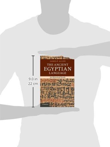 The Ancient Egyptian Language: An Historical Study - Bild 2