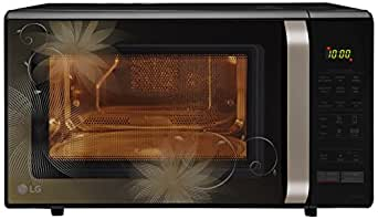 LG 28 L Convection Microwave Oven (MC2846BCT, Black)