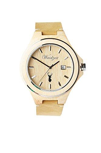Waidzeit Herrenuhr Holz Steirische ZIRBENUHR Armbanduhr Zi01