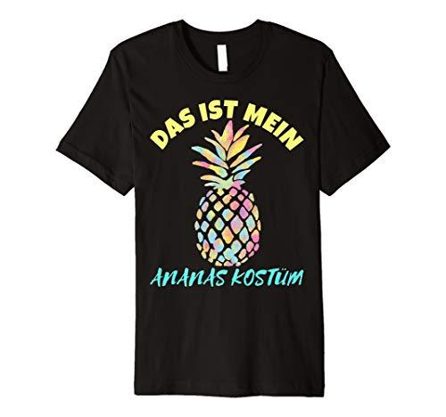 Das ist Mein Ananas Kostüm Karneval T-Shirt - Herren & (Ananas Kostüm Ideen)
