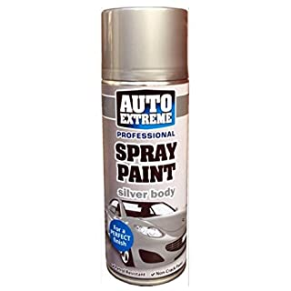 Auto Extreme Silver 1930 Spray Paint Aerosol 400ml (3 Pack)