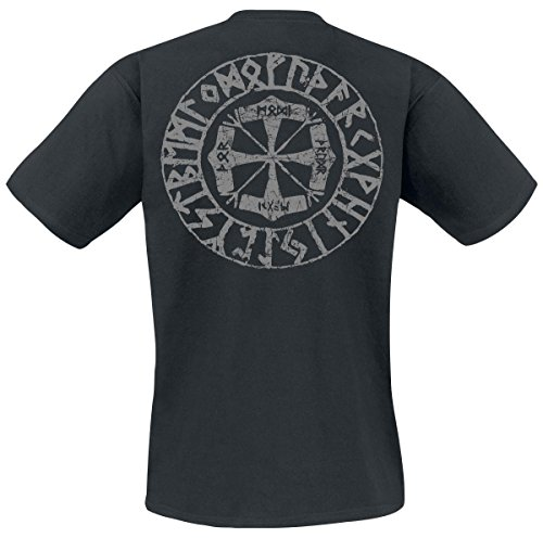 Amon Amarth Viking Horses T-Shirt schwarz Schwarz