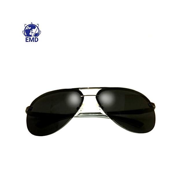a9f9eba01c ... Lunettes de Soleil Aviateur Design - Polarisées - Effet Miroir - UV 400  - Très légères