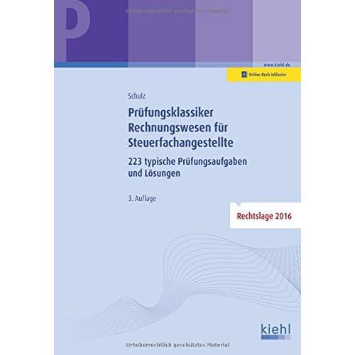 Pdf Prüfungsklassiker Rechnungswesen Für Steuerfachangestellte 223