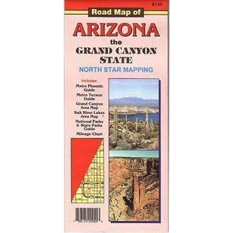 Road Map of Arizona the Grand Canyon