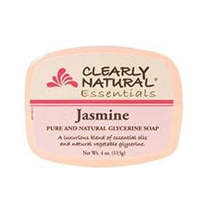 Clearly Natural Glycerine Bar Soap Jasmine 120 ml