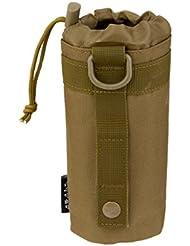 Esterno Tattico Molle Militare Borsa Porta Bottiglia D'acqua Sistema - Tan